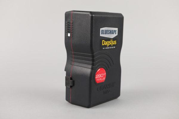 Battery BlueShape w. D-TAP, V-lock (290Wh)
