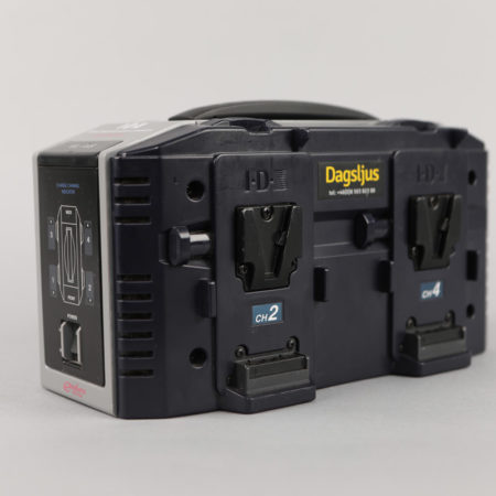 Battery Charger IDX VL-4S, 4-Fack